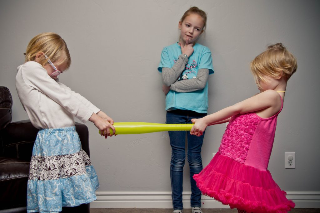 The morality of intervention is a question about whether doing nothing would produce a better outcome than intervening. As parents, we sometimes have to decide if getting involved with our kid's disputes is better than letting them solve their own problems.